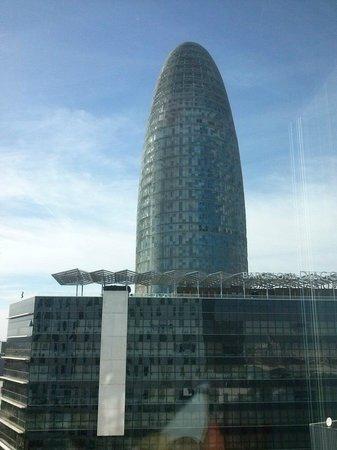 Novotel Barcelona City: Vistas
