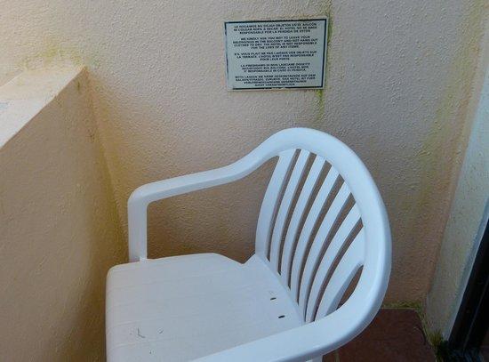 Viva Wyndham Maya: Dreckiger Balkon