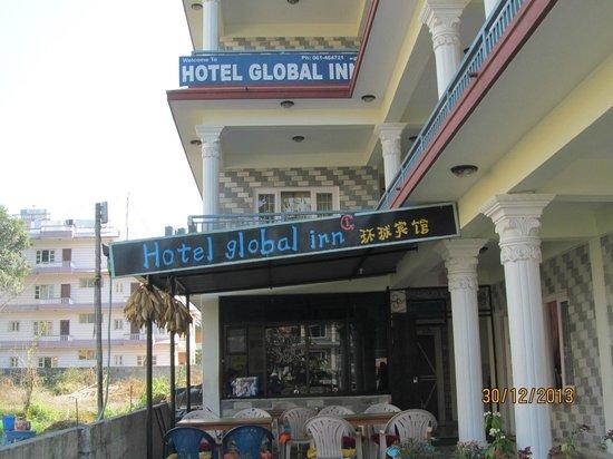 Hotel Global Inn: Hotel entrance