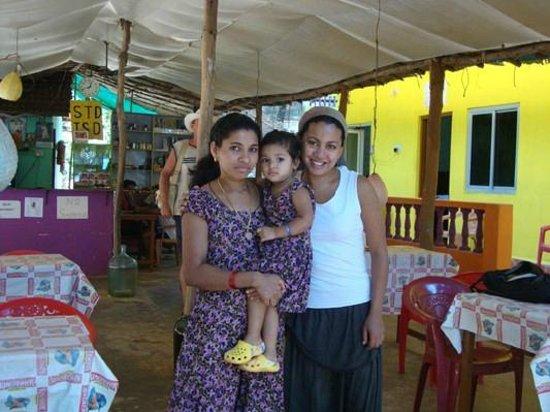 Arambol Residensea: my friend Sara