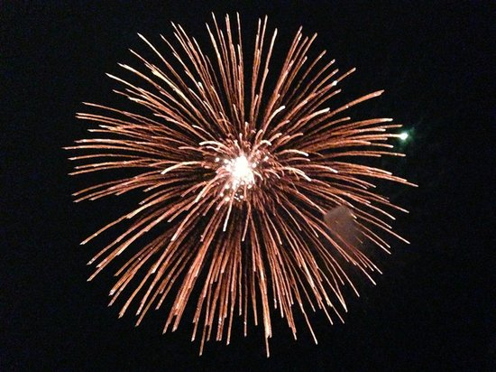 Pancho's: Fireworks were such fun
