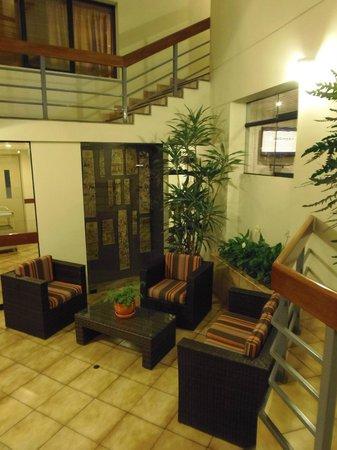 Girasoles Hotel: área común