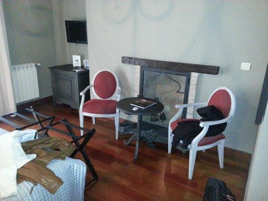 Palacio de Mariana Pineda: habitación