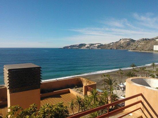 Almunecar Playa Spa Hotel: VISTAS DESDE LA HABITACION DE LA SUIT 619