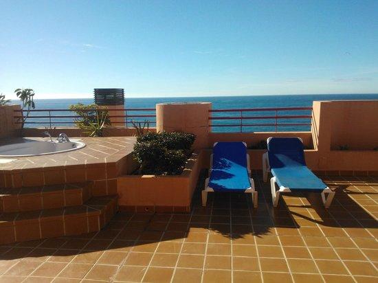 Almunecar Playa Spa Hotel: VISTAS DESDE LA HABITACION DE LA SUIT619