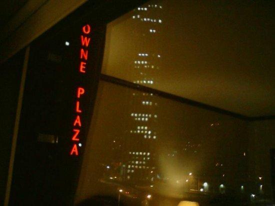 Hotel Tequendama: Vista Nocturna de la Torre Colpatria desde la Habitación