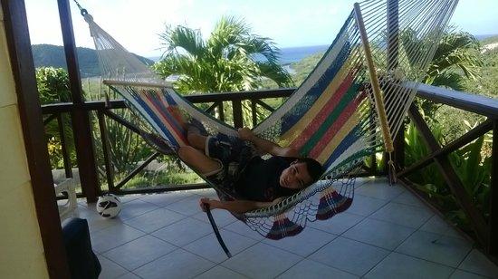 Stoneyhill Studio Apartments: Ace hammock