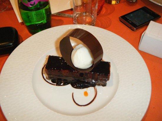Le Lautrec : mille éclats chocolat creme de marrons feuillantine