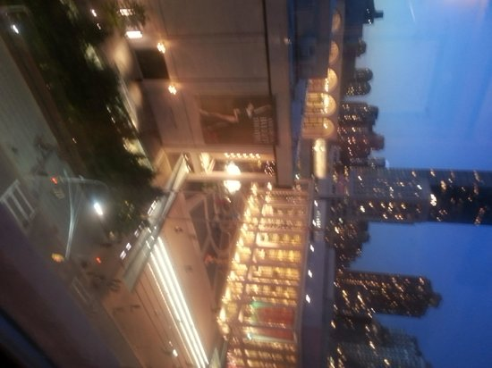 Empire Hotel: View of Lincoln Center from Room 716
