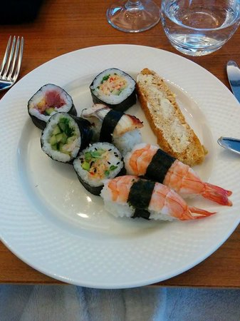 Lava Restaurant : first plate