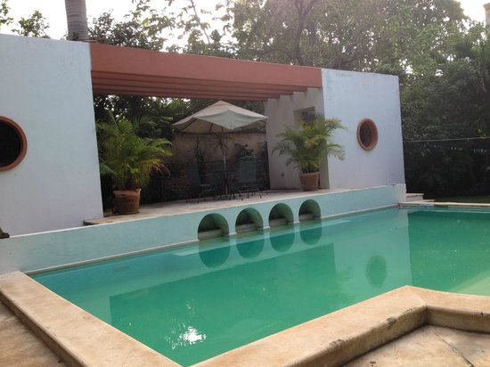 Casa Santiago: one of the pools