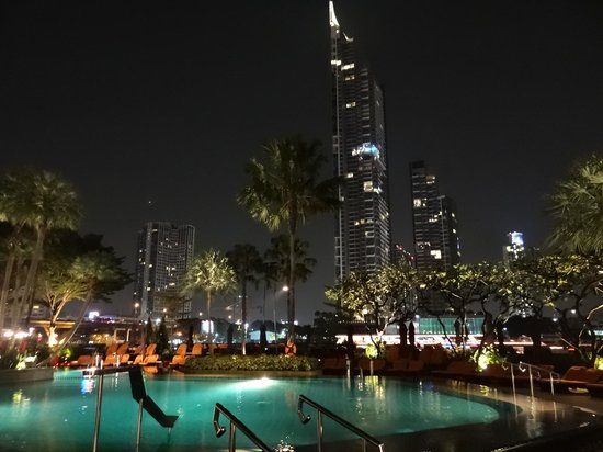 Shangri-La Hotel,Bangkok: shangri la de nuit