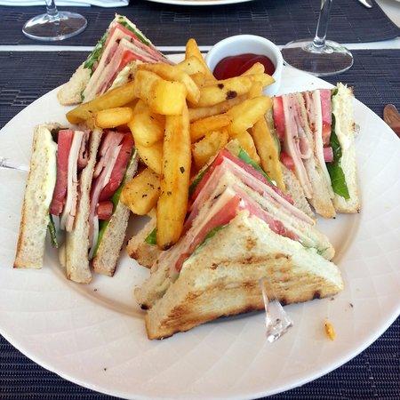 Lindos Mare Hotel : club sandwich
