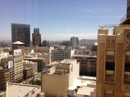San Francisco Marriott Union Square: view from room