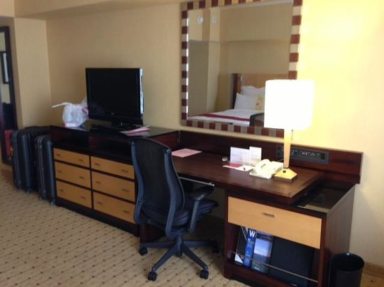 San Francisco Marriott Union Square : working desk