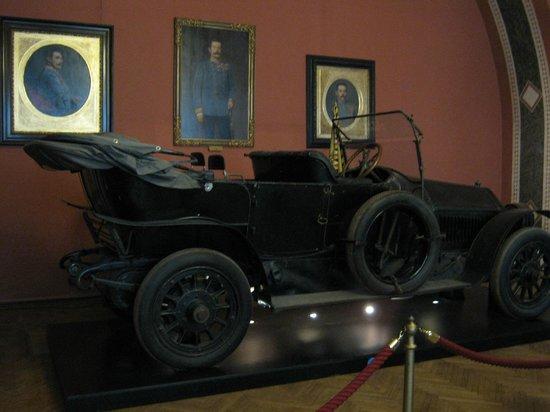 Musée d'histoire militaire de Vienne : Auto del atentado en Sarajevo
