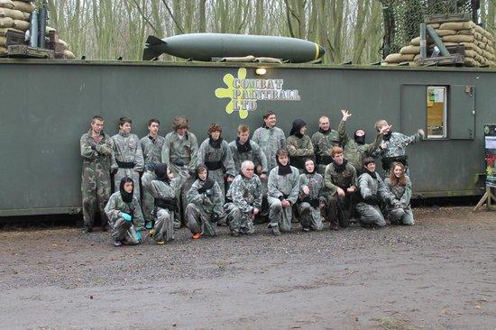 Combat Paintball Ltd: Black opps team