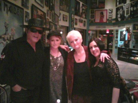 Encore Theater Sedona: Me & my mom with Esteban & Teresa Joy 12/28/13   a night full of magic