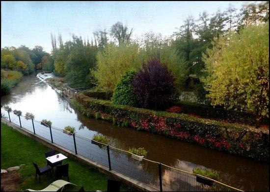 Auberge Du Moulin Marin : vue depuis notre chambre