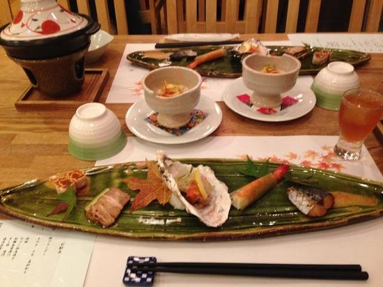 Tabisai no Oyado Mizuhaso: Dinner
