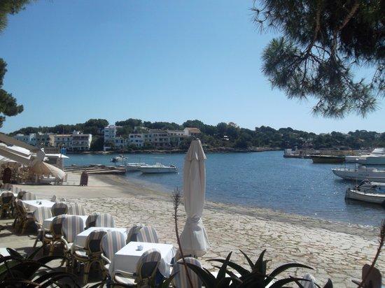 Blau Colonia Sant Jordi Resort & Spa: cenette sul mare