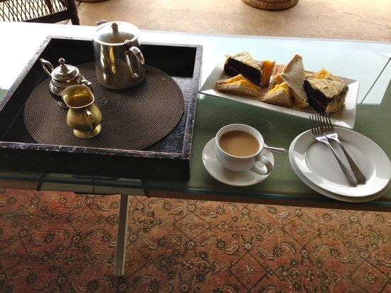 Camp Figtree: Kaffee & Kuchen