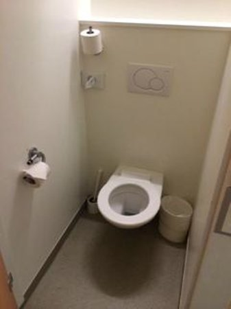 ibis budget Lausanne Bussigny : toilet in closet
