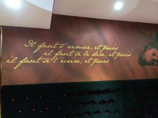 Montmartre Mon Amour: adorable accueil donc