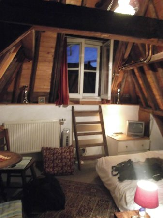 Amsterdam Central Bed and Breakfast: This is the loft room