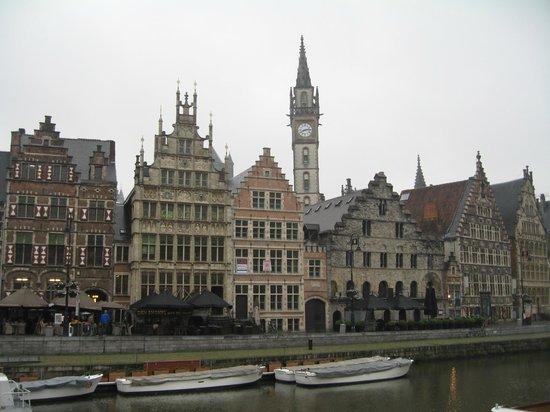 Ghent River Hotel: Старая гавань