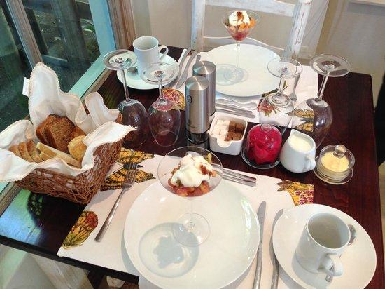 Villa Blu : Frühstück