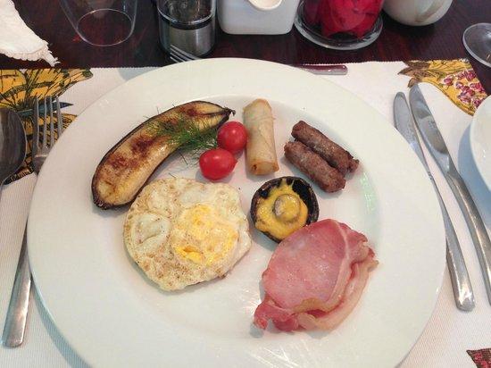 Villa Blu: Frühstücl