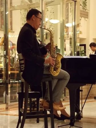 Prama Grand Preanger: Music at the lobby