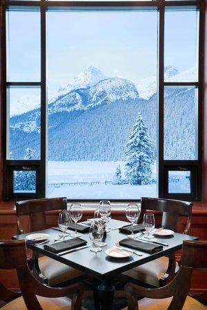 The Walliser Stube: View from Walliser Stube Restaurant