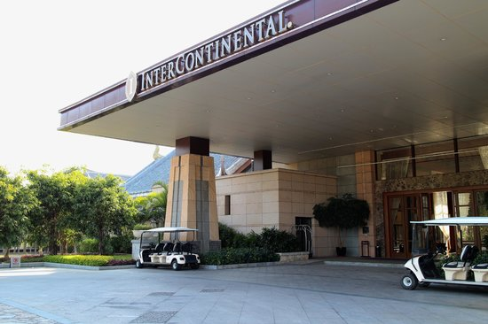 InterContinental Huizhou Resort: Resort Entrance