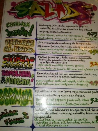 Juicy Jones: Ensaladas
