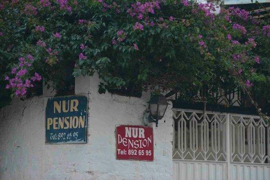 Nur Pension : Entrance of pension