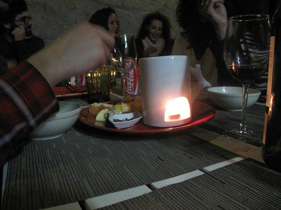 Rua- Tapas & Music Bar: Fruit fondue