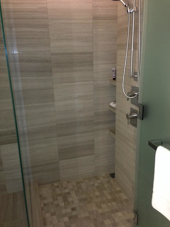 Glass enclosed shower - Picture of Four Seasons Hotel Toronto ...