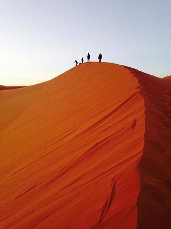 Riad Aicha: sunset