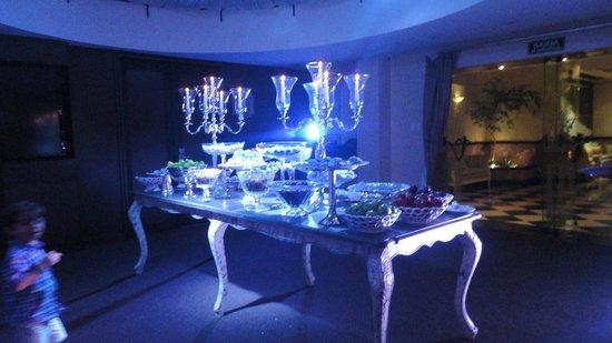 Parque Balneario Hotel: Mesa de Sobremesa - festa Reveillon 13/14
