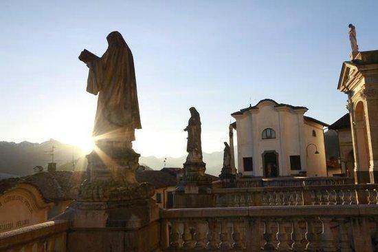 Clusone: vista dalla chiesa