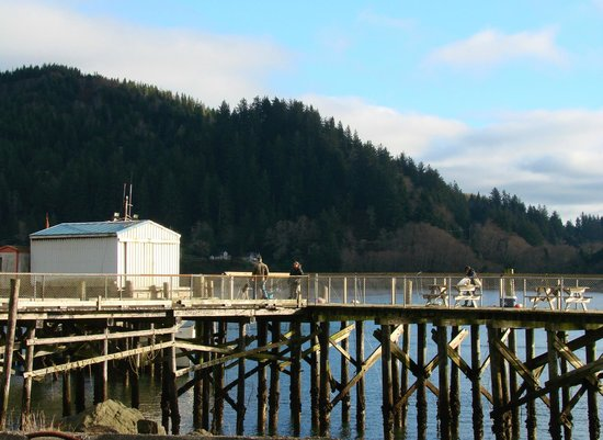 Harborview Inn & RV Park: dock