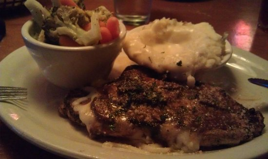 Texas Roadhouse: Portobello Chicken