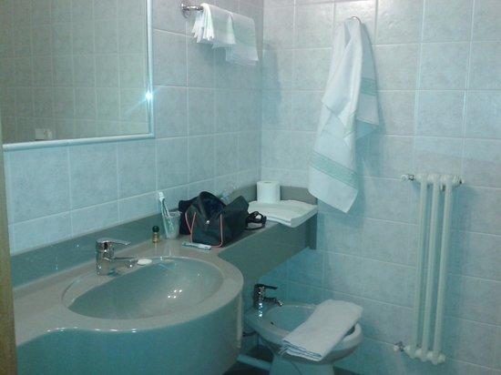 Hotel Compagnoni: Bagno
