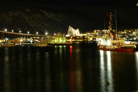 Clarion Collection Hotel With: View of Tromso harbour from room