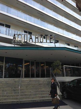Aqua Hotel: Esterno