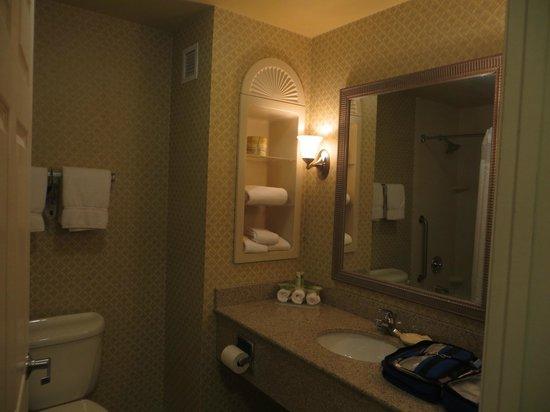 Holiday Inn Express & Suites Parkersburg - Mineral Wells: Bathroom.