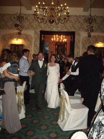 Rowton Castle: Bride & Groom