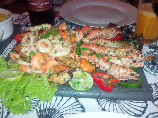 Taverne 67 : plat de fruits de mer